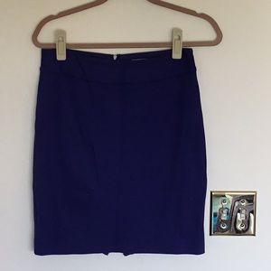 Trina Turk purple pencil skirt